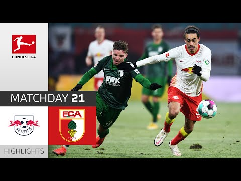 RB Leipzig Augsburg Goals And Highlights