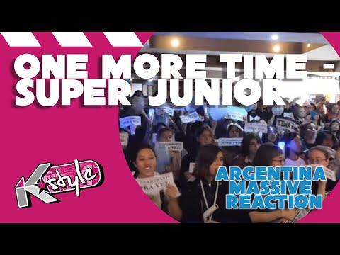 SUPER JUNIOR 'ONE MORE TIME' MASSIVE MV REACTION // 슈퍼주니어 리액션 아르헨티나