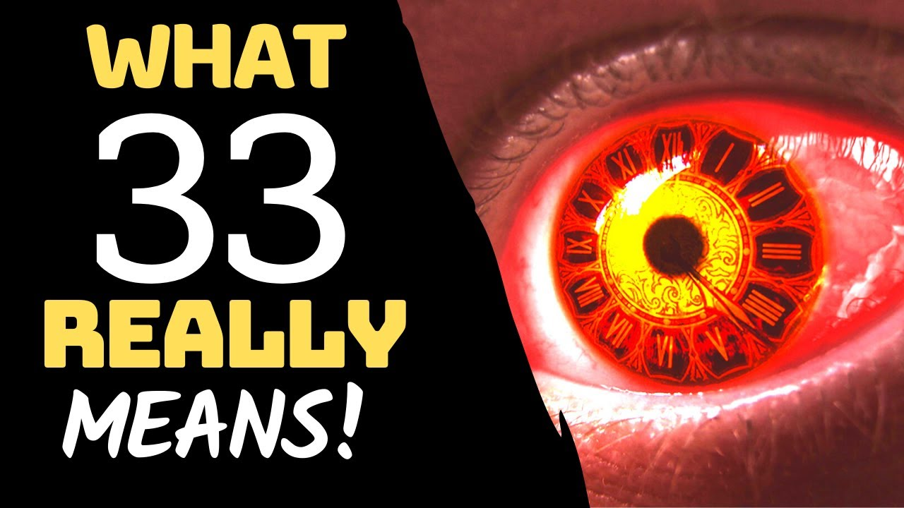 Numerology 33 Meaning: SECRET Angel Number 33 MEANING!