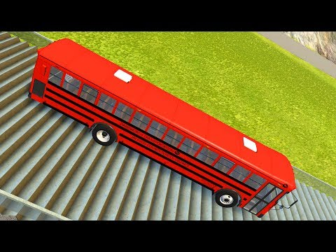 Stairs Jumps Down #13 - BeamNG.drive