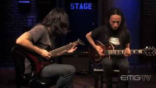Death Angel plays metal live on EMGtv