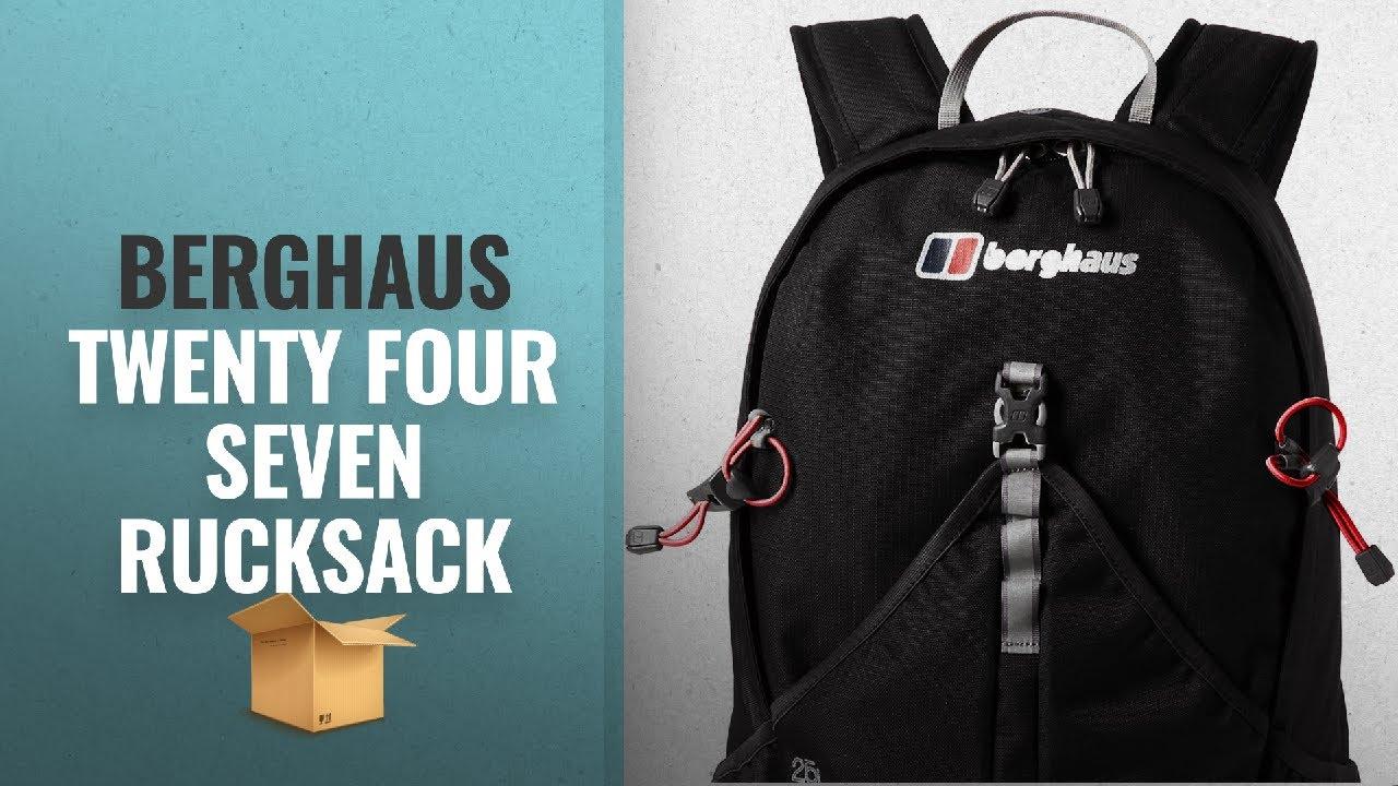 Berghaus Twenty Four Seven Plus 25 Litre Rucksack Black Enhanced Comfort