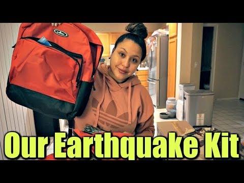 Whats Inside Our Earthquake Kit!