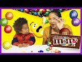 Learn colors with M&M's Chocolate Peanut Candy for Toddlers Kids Children Babies Learning Colours