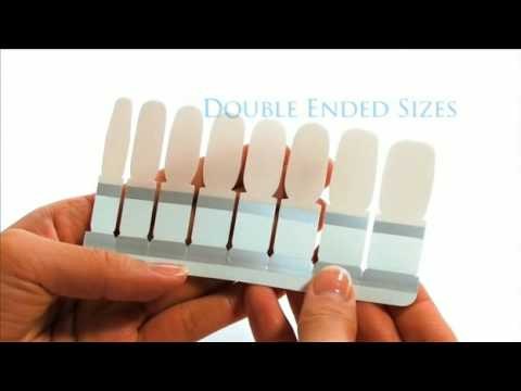 Perfect French Manicure Tutorial-Nail Polish Strips