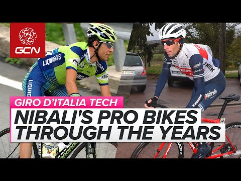 The Pro Bikes Of Vincenzo Nibali   10 Years Of Cycling Evolution