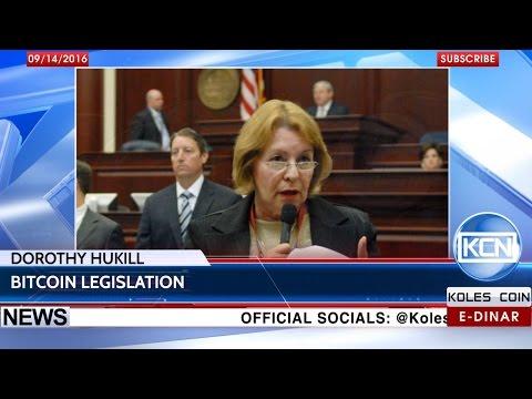 KCN News: potential Bitcoin legislation in Florida by Dorothy Hukill