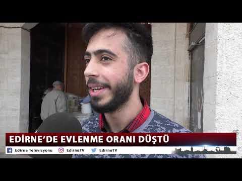 EDİRNE'DE EVLENME ORANI DÜŞTÜ