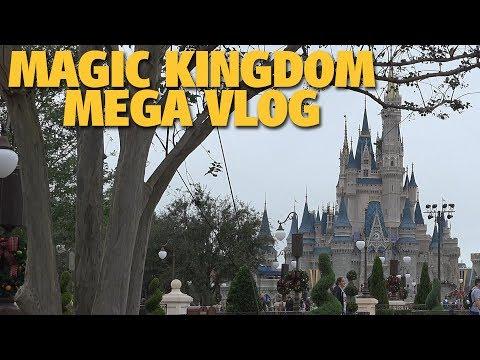 Magic Kingdom MEGA Vlog! | Walt Disney World