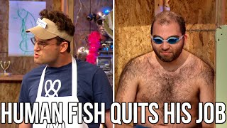 The Human Fish Quits His Job | The Chris Gethard Show
