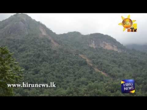 Aranayaka Kabaragala Hill Land Slide