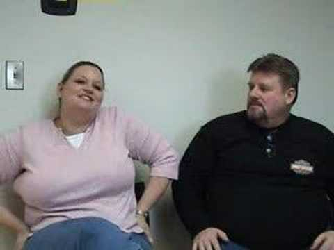 Two Happy Patients 1 Month After Mini-Gastric Bypass Surgery