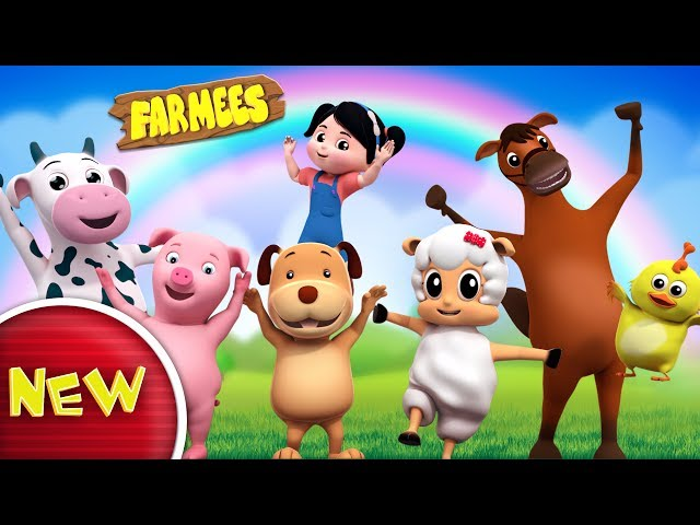 If You're Happy And You Know It Clap Your Hands | Nursery Rhyme | Children Rhymes by Farmees