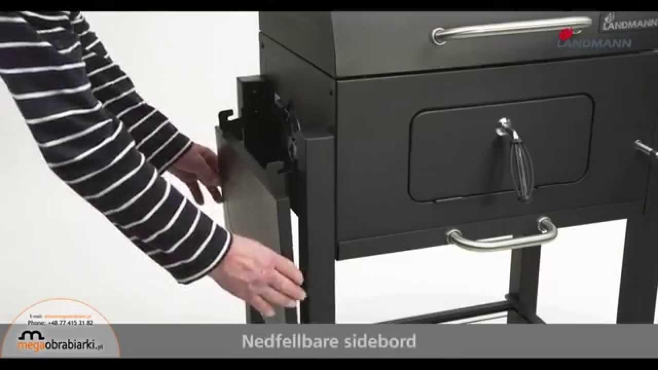 Landmann Holzkohlegrill Dorado : Grill węglowy landmann youtube