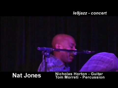 Rays of Hope | Nat Jones @ 9 Jazz Club