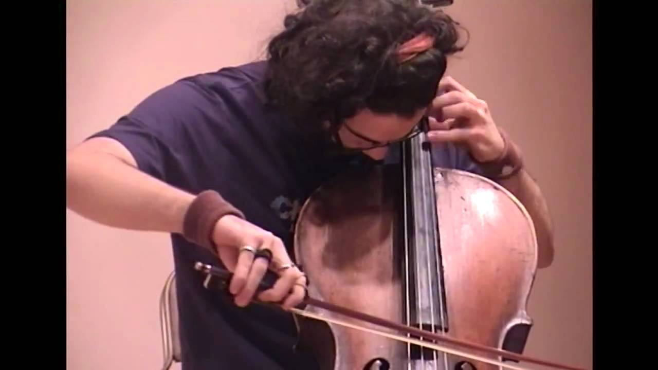 J. S. Bach - Toccata in D Minor - Constandinos Boudounis - Solo Cello - live