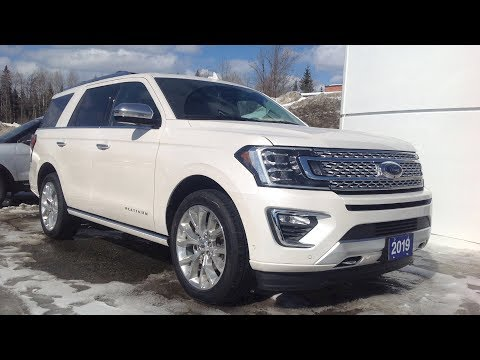 2019 Ford Expedition Platinum: Start Up, Exterior, Interior & Full Review