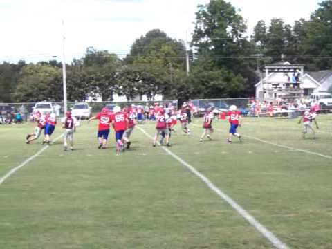 Tennessee, Crockett County Middle School 6th Grade Football