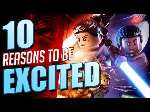 10 Reasons To Be Excited for LEGO Star Wars: The Force Awakens