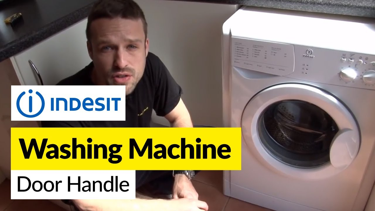 How To Replace A Washing Machine Door Handle On An Indesit Washer Lock Wiring Diagram Mah 4000 Aww
