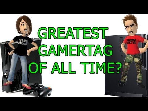 Greatest GamerTag of all time? - YouTube
