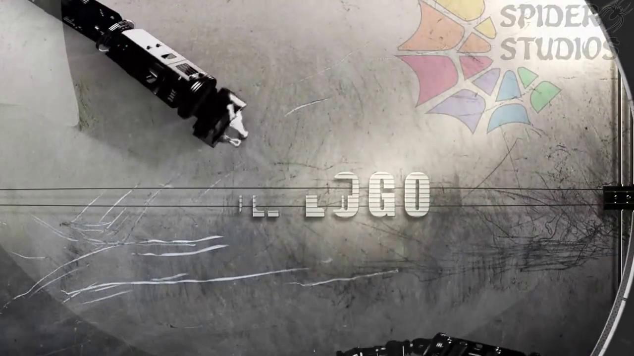 068 Robotic arms mechanic logo reveal