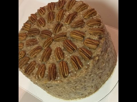 German Chocolate Cake Part I