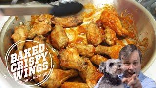 Crispy Baked Chicken Wings With Honey Sriracha Sauce Recipe