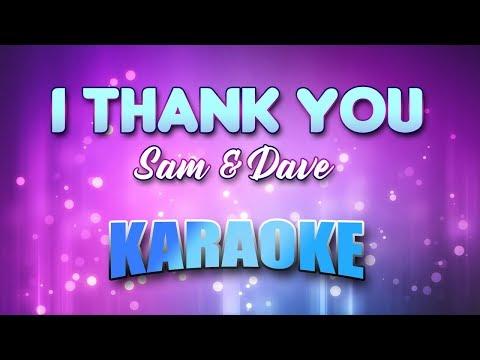 Sam & Dave - I Thank You (Karaoke & Lyrics) mp3