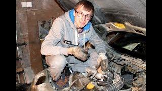 Замена радиатора печки ваз 2110 #garagehimmash