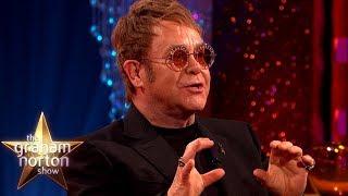 Eminem Sent Elton John a Diamond Encrusted Cock Ring   The Graham Norton Show