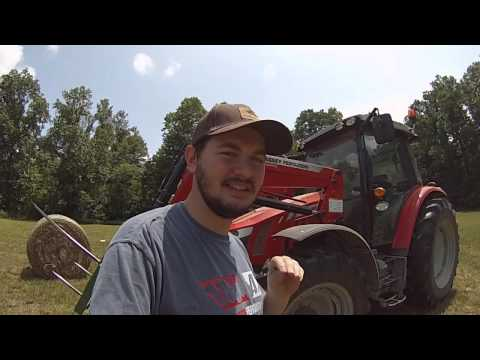 "Part 2 Massey Ferguson 5610, 350hr Review ""Engine"""