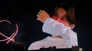 Army had a secret mission to surprise bts by singing 'young forever' for the boys during london wembley stadium show. song made tear up! day ...