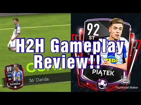 Piatek & Darida H2H Gameplay | They Just Can't Stop Scoring!! | FIFA MOBILE 20