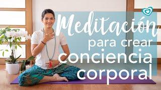 Meditación para crear conciencia corporal | Paloma & Caramelos