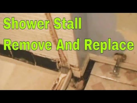 shower-stall-remove-and-replace-2/7