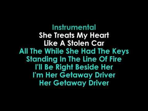 Getaway Driver Karaoke Miranda Lambert