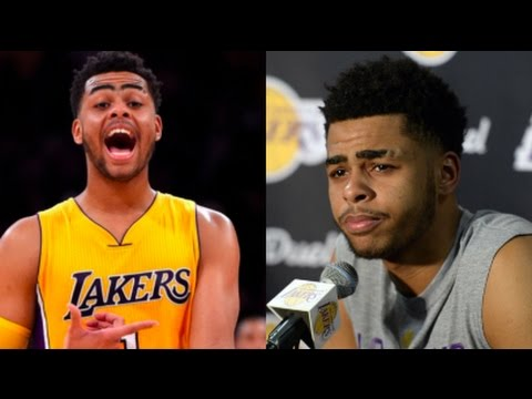 D'angelo Russell 2017- Funny Moments, Commercials, Interviews