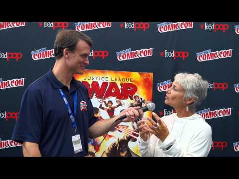 Justice League: War Interview with Voice Director Andrea Romano at NYCC