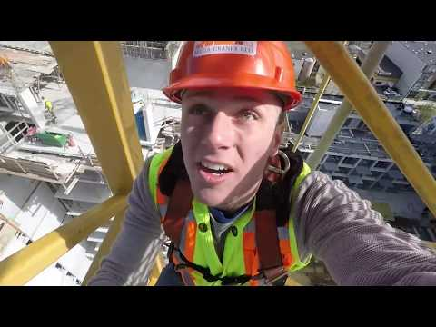 WORKING AS A CONSTRUCTION CRANE OPERATOR