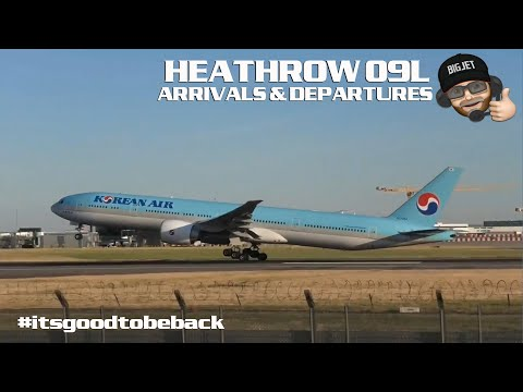 Planespotting Live From London #Heathrow Airport