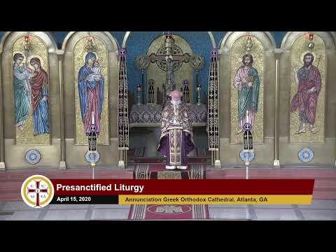 Download 20200415–Presanctified Liturgy