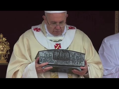 Pope explains relics of St. Peter he gave Orthodox Patriarch in June Mp3
