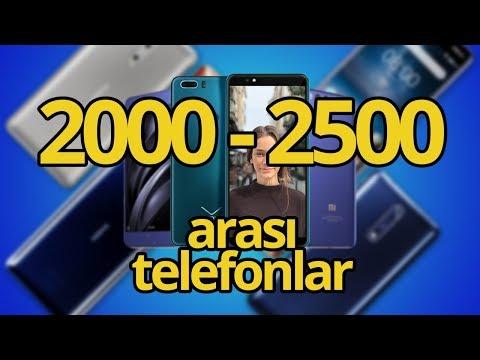 2000 - 2500 TL ARASI EN İYİ AKILLI TELEFONLAR - HAZİRAN 2018