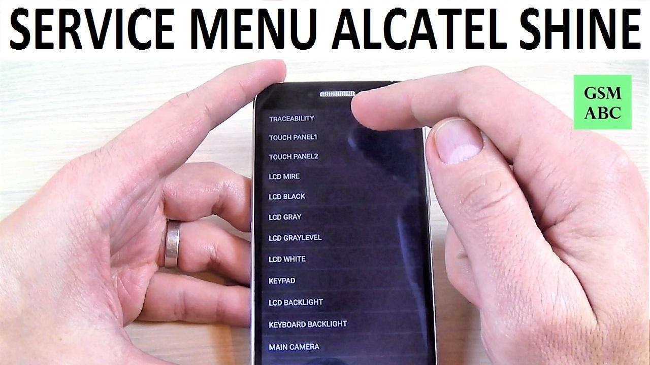 SERVICE MENU Alcatel SHINE Lite   How to   Tips and Tricks
