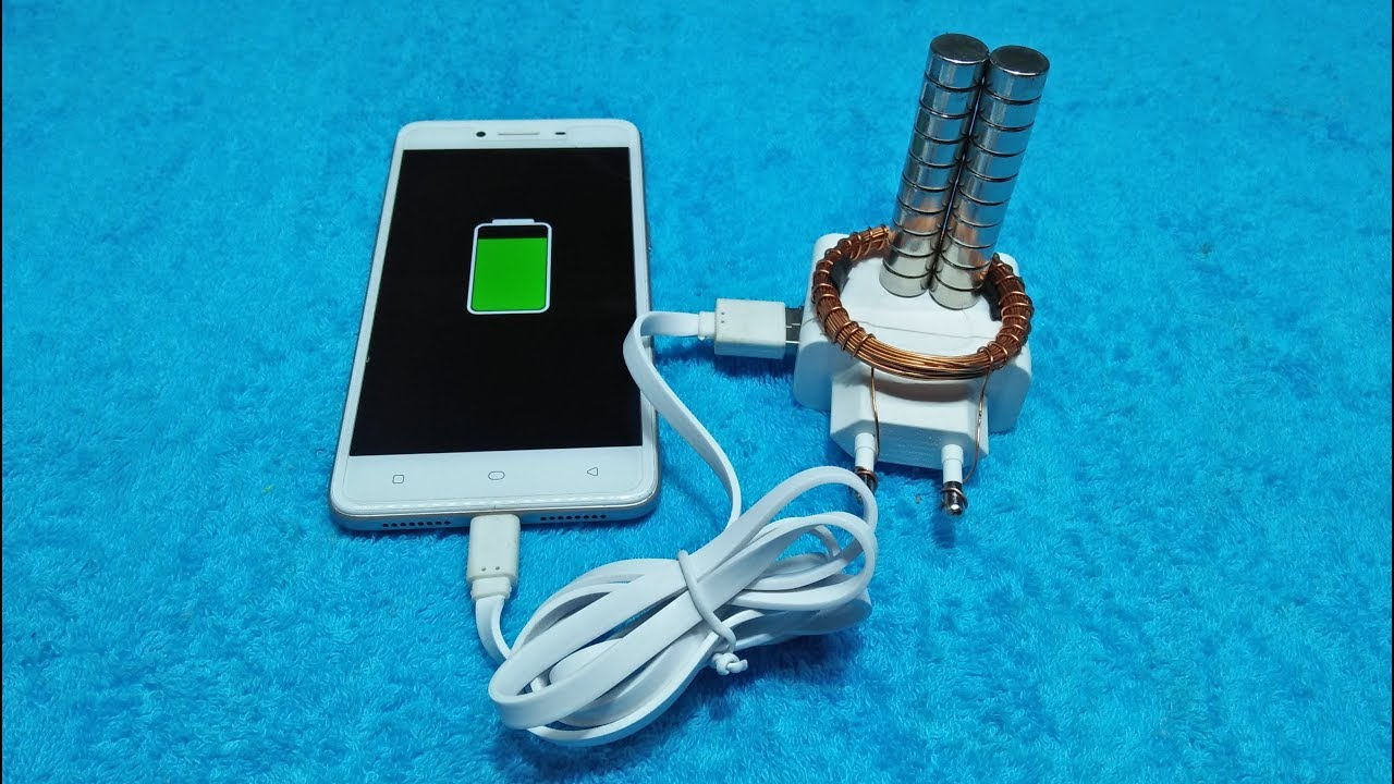 Mobile Charging Free Energy Copper Wire With Magnet And Mobile ...