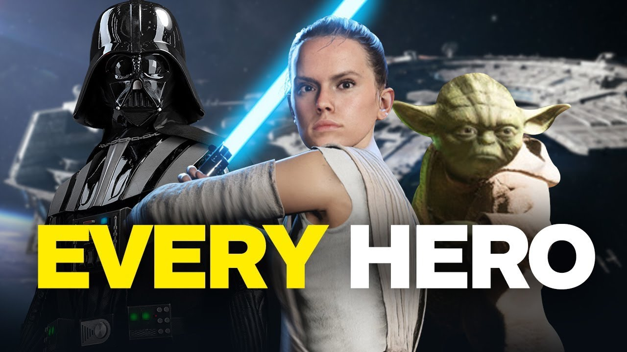 Every Hero Ability in Star Wars Battlefront 2