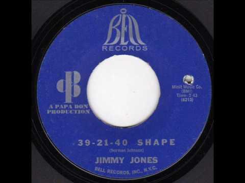 JIMMY JONES 39 21 40 SHAPE
