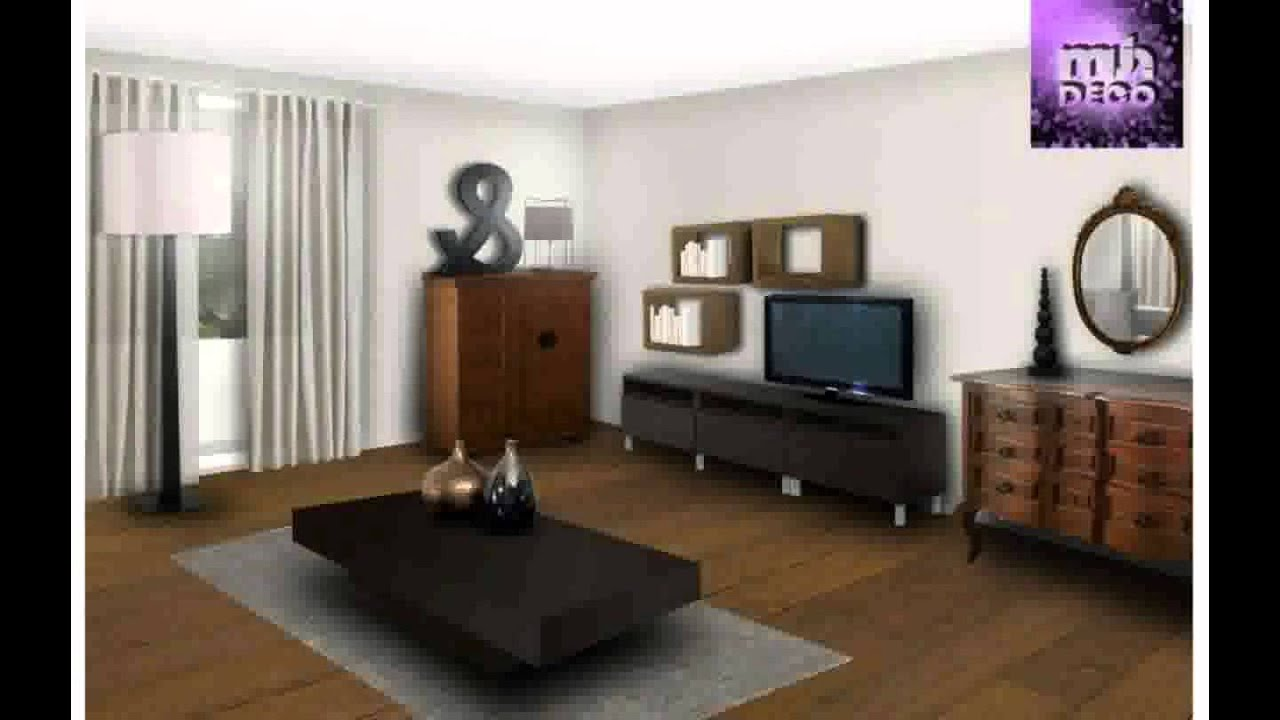 D coration ancien moderne youtube for Decoration de salon moderne