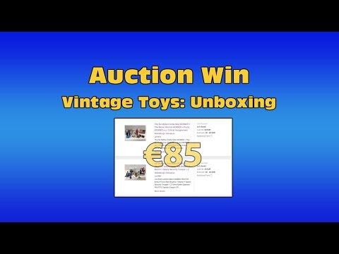 Vintage Toys - Auction Unboxing - Action Man & Six Million Dollar Man